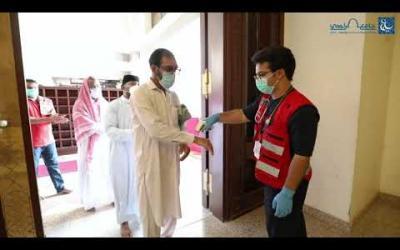 Embedded thumbnail for التطوع في جامع الراجحي بمكة